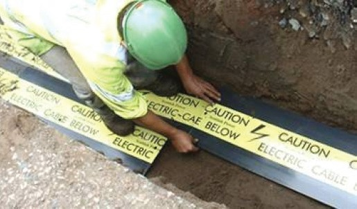 Concrete Cable Protection Cover Tiles